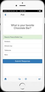 Socialpoint Event App Poll Question