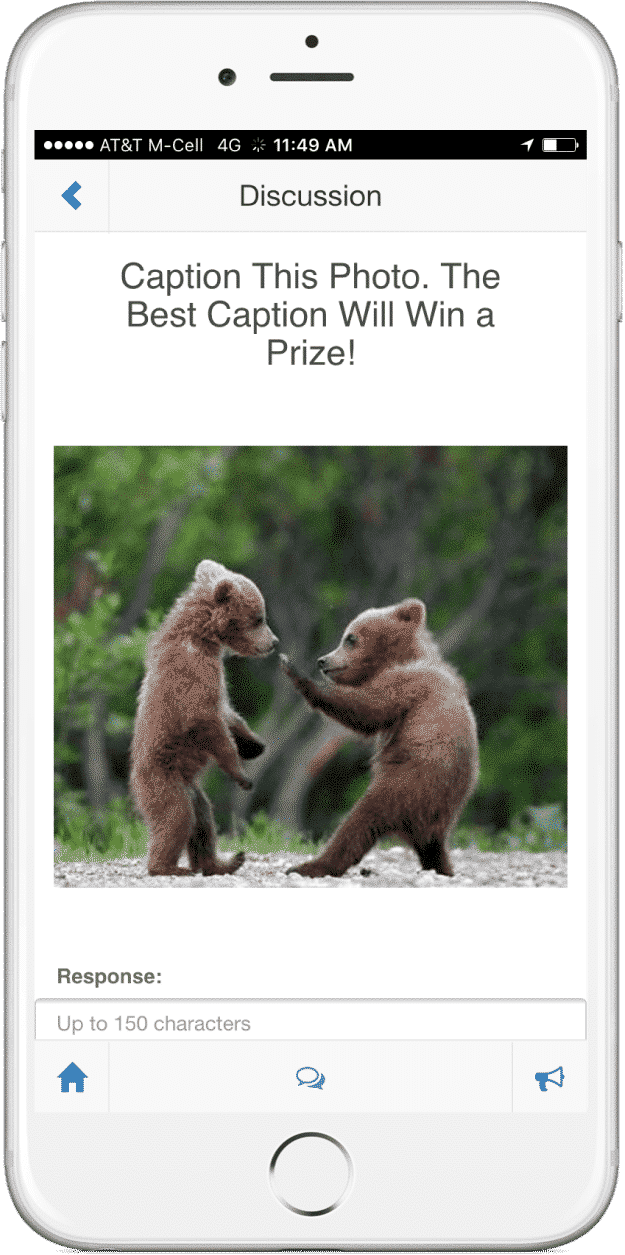 SocialPoint Event App - Caption This Contest