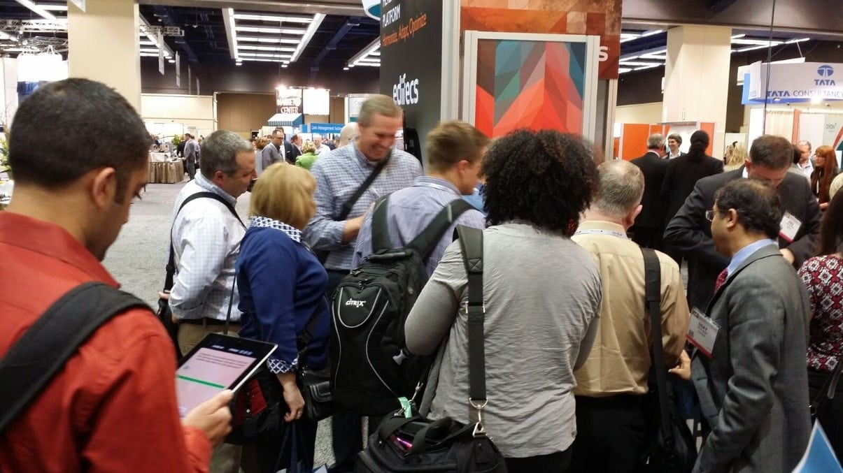 trade show games bring in more booth traffic