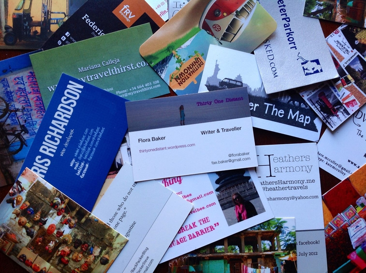 do you like to data enter stacks of business cards after your trade show