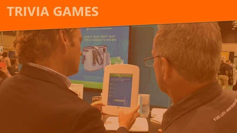 digital trivia games for trade shows and events