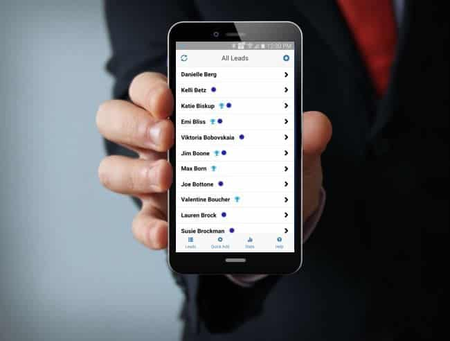 New SocialPoint Lead Manager app for trade show lead capture