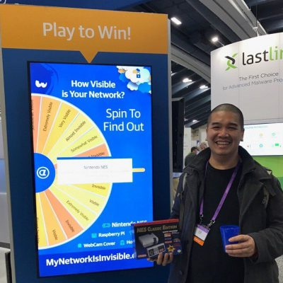 Train your booth staff to succeed with our Virtual Prize Wheel in your trade show booth