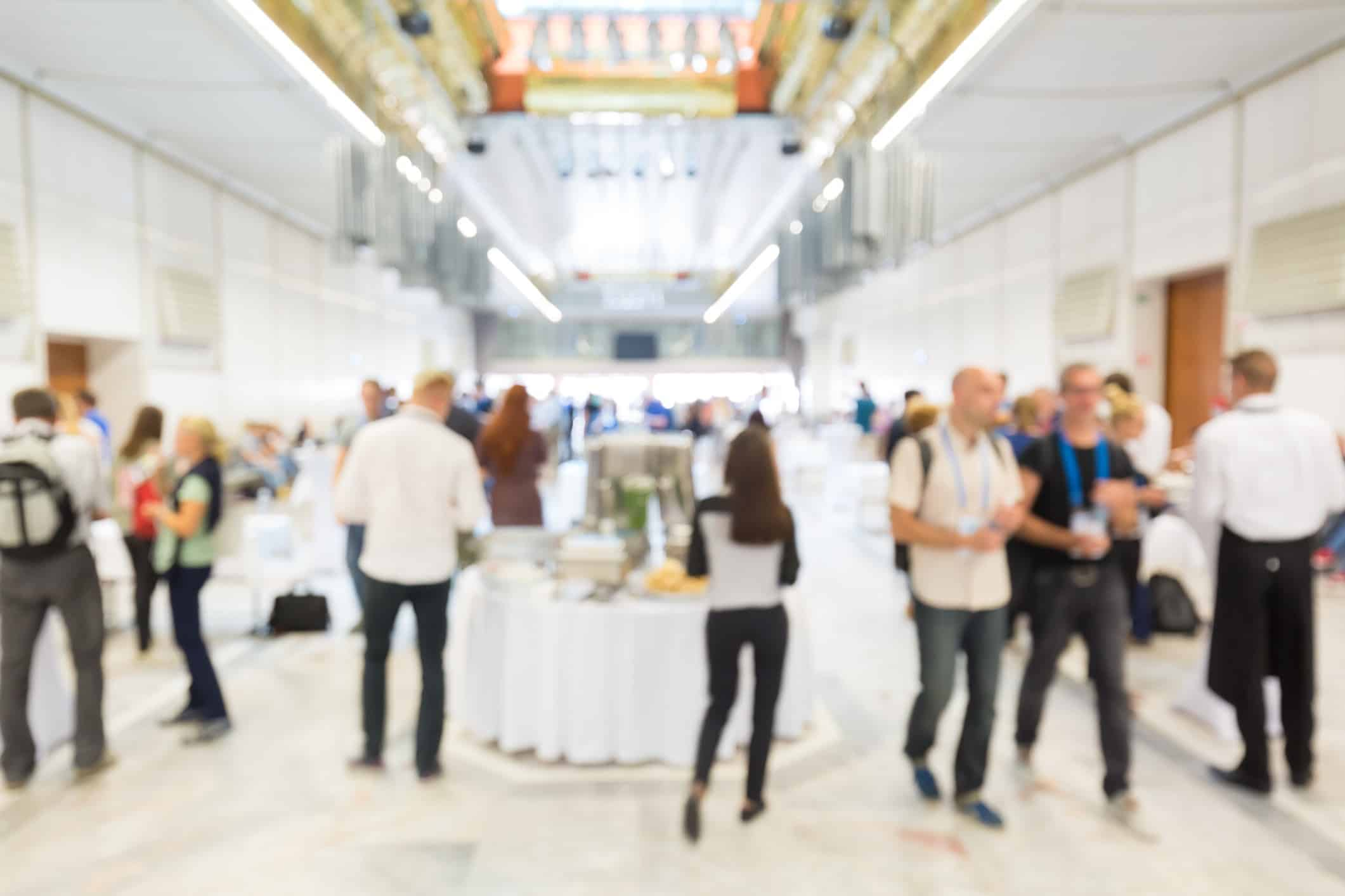 Attendee engagement at events and business meetings