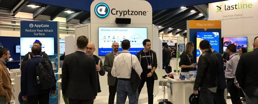 trade show games for tech exhibitors - virtual prize wheel for Cryptozone