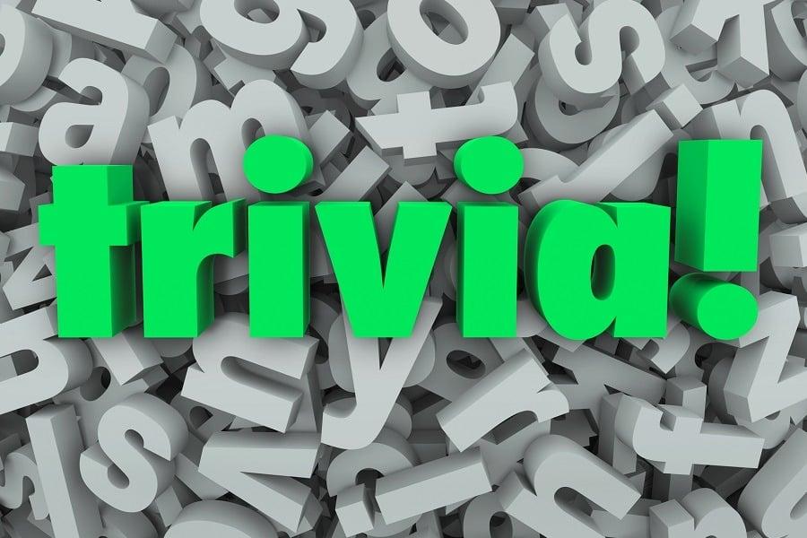 trade show trivia game examples
