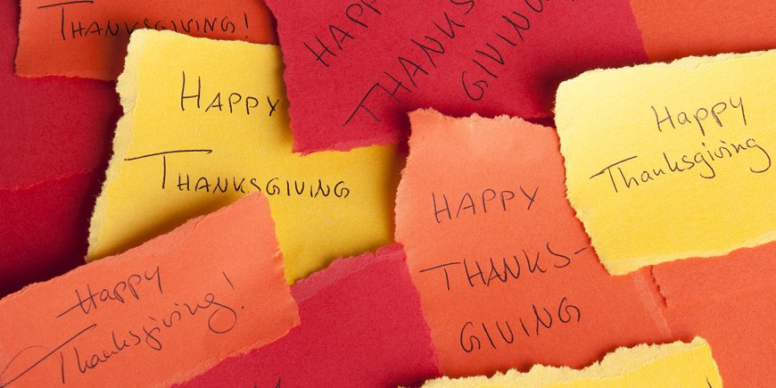 15 Things Exhibitors Can Be Thankful For This Thanksgiving