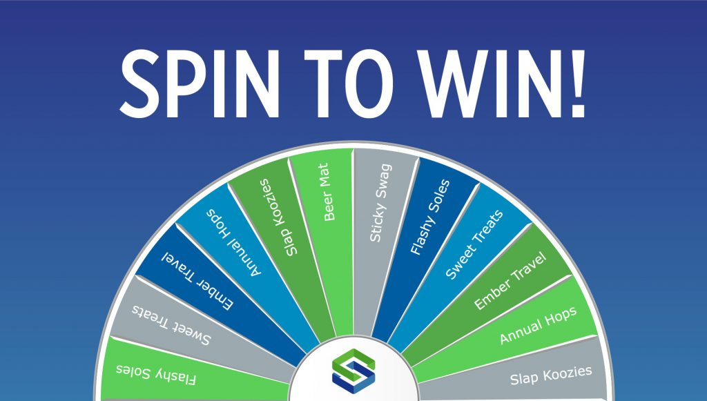 Virtual Prize Wheel - Skybox - Spin To Win trade show game