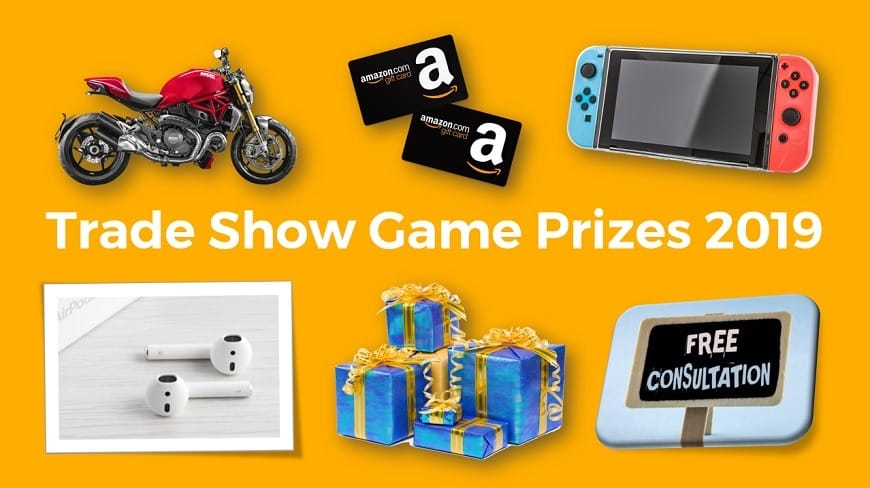 Trade Show Game Prizes 2019: Top 7 Ideas From 100 Exhibitor