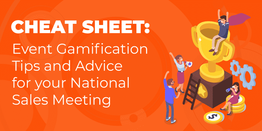 Cheat Sheet Event Gamification National Sales Meeting