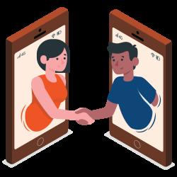 SocialPoint Virtual Team Trivia Illustration